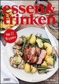 ESSEN & TRINKEN Wochenkalender 2022 - Küchen-Kalender mit Notizfeldern - pro Woche 1 Rezept - Format 21,0 x 29,7 cm - Spiralbindung