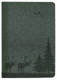 Buchkalender Nature Line Pine 2022 - Taschen-Kalender A5