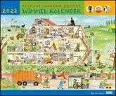Wimmel-Kalender 2022 - DuMont Kinderkalender - Wandkalender 58,4 x 48,5 cm - Spiralbindung
