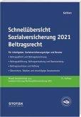 Schnellübersicht Sozialversicherung 2021 Beitragsrecht