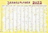 Jahresplaner Cartoon XL 2022 - Plakat-Kalender 99x69 cm
