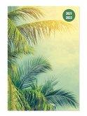 Collegetimer Tropical Dream 2021/2022 - Schüler-Kalender A6 (10x15 cm) - Day By Day - 352 Seiten - Terminplaner - Notizbuch - Alpha Edition