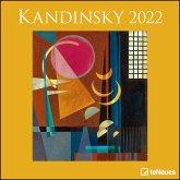 Kandinsky 2022 - Wand-Kalender - 30x30 - 30x60 geöffnet