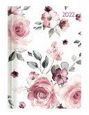 Ladytimer Roses 2022 - Rosen - Taschenkalender A6