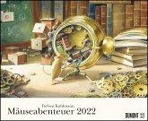 Torben Kuhlmanns Mäuseabenteuer 2022 - DUMONT Kinder-Kalender - Querformat 52 x 42,5 cm - Spiralbindung