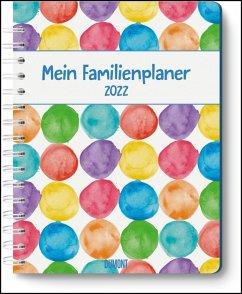 Mein Familienplaner-Buch »Tapetenwechsel« 2022 - Buch-Kalender - Praktisch, zum Mitnehmen - mit 5 Spalten und vielen Zusatzseiten