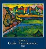 DuMonts Großer Kunstkalender 2022 - Klassische Moderne, Impressionisten, Expressionisten - Wandkalender Format 45 x 48 cm
