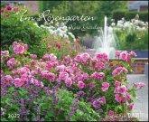 Im Rosengarten 2022 - DUMONT Garten-Kalender - Querformat 52 x 42,5 cm - Spiralbindung