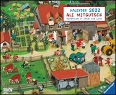 Ali Mitgutsch 2022 - Wimmelbilder - DUMONT Kinder-Kalender - Querformat 52 x 42,5 cm - Spiralbindung
