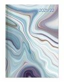 Campustimer Blue Marble - A5 Semester-Planer - Studenten-Kalender 2021/2022