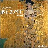 Gustav Klimt 2022 - Kunst-Kalender - 30x30 - 30x60 geöffnet