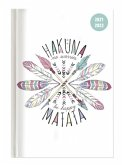 Collegetimer Hakuna Matata 2021/2022 - Schüler-Kalender A6 (10x15 cm) - Day By Day - 352 Seiten - Terminplaner - Notizbuch - Alpha Edition