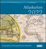 Geographisch-Kartographischer Kalender 2022 - Der Blickwinkel des Kartographen - Wand-Kalender mit historischen Landkarten - 45 x 48 cm
