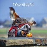 Freaky Animals 2022 - Broschürenkalender 30x30 cm (30x60 geöffnet) - Kalender mit Platz für Notizen - Bildkalender - Wandplaner - Alpha Edition
