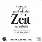 Sprüche im Quadrat 2022 - Typo-Kalender von FUNI SMART ART - Funny Quotes - Quadrat-Format 24 x 24 cm - 12 Monatsblätter mit typografisch gestalteten Sprüchen
