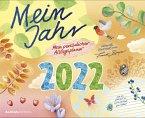 Mein Jahr 2022 - Mein praktischer Alltagsplaner - Wand-Kalender - Broschüren-Kalender