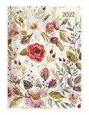 Ladytimer Flower Field 2022 - Blume - Taschenkalender A6 (11x15 cm)