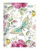 Ladytimer Butterfly 2022 - Schmetterling - Taschenkalender A6 (11x15 cm)