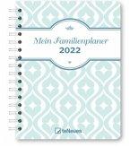 Mein Familienplaner 2022 - Diary - 17,5x23,1