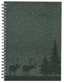 Wochenplaner Nature Line Pine 2022 - Taschen-Kalender A5 - 1 Woche 2 Seiten - Ringbindung - 128 Seiten - Umwelt-Kalender - mit Hardcover - Alpha Edition
