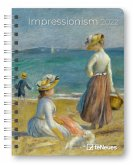 Impressionism 2022 - Diary - Buchkalender - Taschenkalender - Kunstkalender - 16,5x21,6