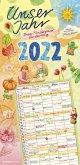 Unser Jahr 2022 - Unser Familienplaner für den Alltag - Familien-Timer - Termin-Planer - Kinder-Kalender - Familien-Kalender