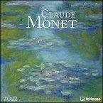 Claude Monet 2022 - Kunst-Kalender - 30x30 - 30x60 geöffnet