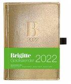 Brigitte Goldkalender 2022 - Buchkalender - 10x14