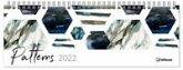 Patterns 2022 - Tischquerkalender - 29,7x10,5