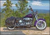 Harleys 2022 - Wand-Kalender - 42x29,7 - Motorrad