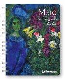Marc Chagall 2022 - Diary - 16,5x21,6