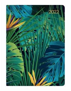 Mini-Buchkalender Style Jungle 2022 - Taschen-Kalender A6