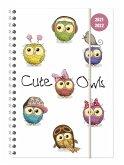 Collegetimer Cute Owls 2021/2022