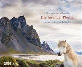 Die Insel der Pferde: Island und seine Isländer 2022 - Pferde-Kalender im Querformat