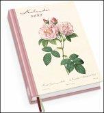 Redoutés Rosen Taschenkalender 2022 - Terminplaner mit Wochenkalendarium - Format 11,3 x 16,3 cm