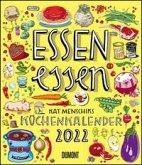 Essen essen - Kat Menschiks Küchenkalender 2022 - Hochformat