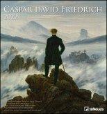 Caspar David Friedrich 2022 - Kunst-Kalender - 45x48