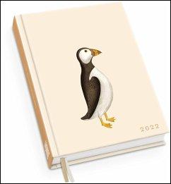 Taschenkalender »Papageientaucher« 2022 - Von 30x40 - Terminplaner mit Wochenkalendarium - Format 11,3 x 16,3 cm