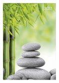 Buchkalender Style Zen 2022 - Bürokalender A5