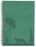 Wochenplaner Nature Line Forest 2022 - Taschen-Kalender A5