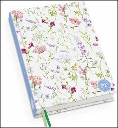 Lovely Flowers Taschenkalender 2022 - Turnowsky-Design - Terminplaner mit Wochenkalendarium - Format 11,3 x 16,3 cm