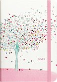 2022 Tree of Hearts Weekly Planner (16-Month Engagement Calendar)