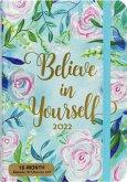 2022 Blue Dreams Weekly Planner (16-Month Engagement Calendar)