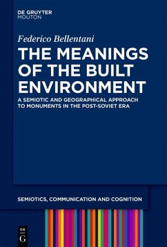 The Meanings of the Built Environment (eBook, ePUB) - Bellentani, Federico