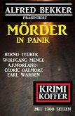 Mörder in Panik: Krimi Koffer mit 1300 Seiten (eBook, ePUB)