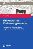 Ein verpasster Verfassungsmoment (eBook, PDF)