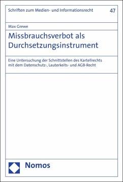 Missbrauchsverbot als Durchsetzungsinstrument (eBook, PDF) - Grewe, Max