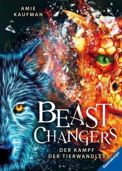 Der Kampf der Tierwandler / Beast Changers Bd.3 (Mängelexemplar) - Kaufman, Amie