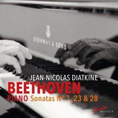 Beethoven Piano Sonatas N 7,23 And 28 - Diatkine,Jean-Nicolas