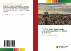 Produtividade da soja após aplicação superficial de doses de calcário - Tacca, Julio